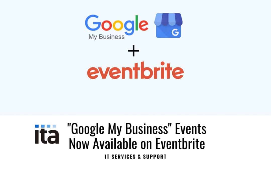 google my business online events