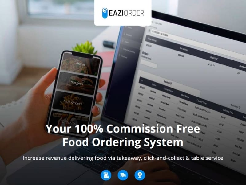 New Commission Free Food Ordering App